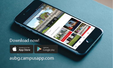 AUBG MOBILE APP Stay up to date with academic and campus life