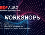 TEDxAUBG Workshops: Learn How To Talk Like a TED Speaker
