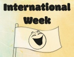 International Week: Try not to laugh challenge
