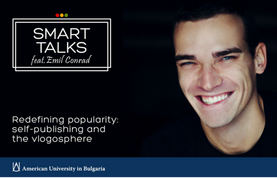 Emil Conrad Presents Redefining Popularity:Self-Publishing and the Vlogosphere