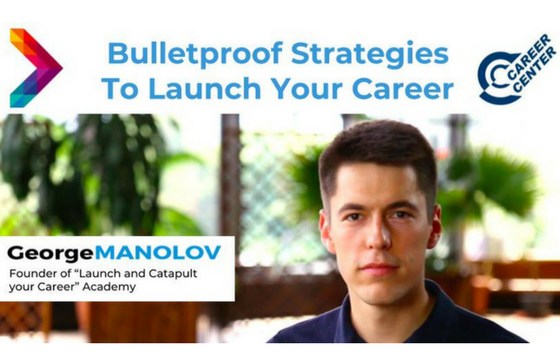 Bulletproof Strategies To Launch Your Career