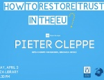 Lecture: How to Restore Trust in the EU?