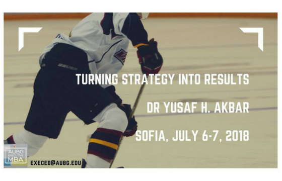 Turning Strategy into Results with Dr. Yusaf H. Akbar