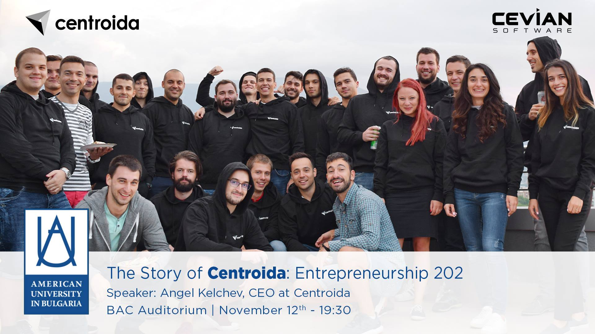 The Story of Centroida: Entrepreneurship 202