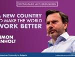 Lecture: A Good Country to Make the World Work Better by Simon Anholt