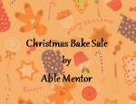 Christmas Bake Sale by ABLE Mentor