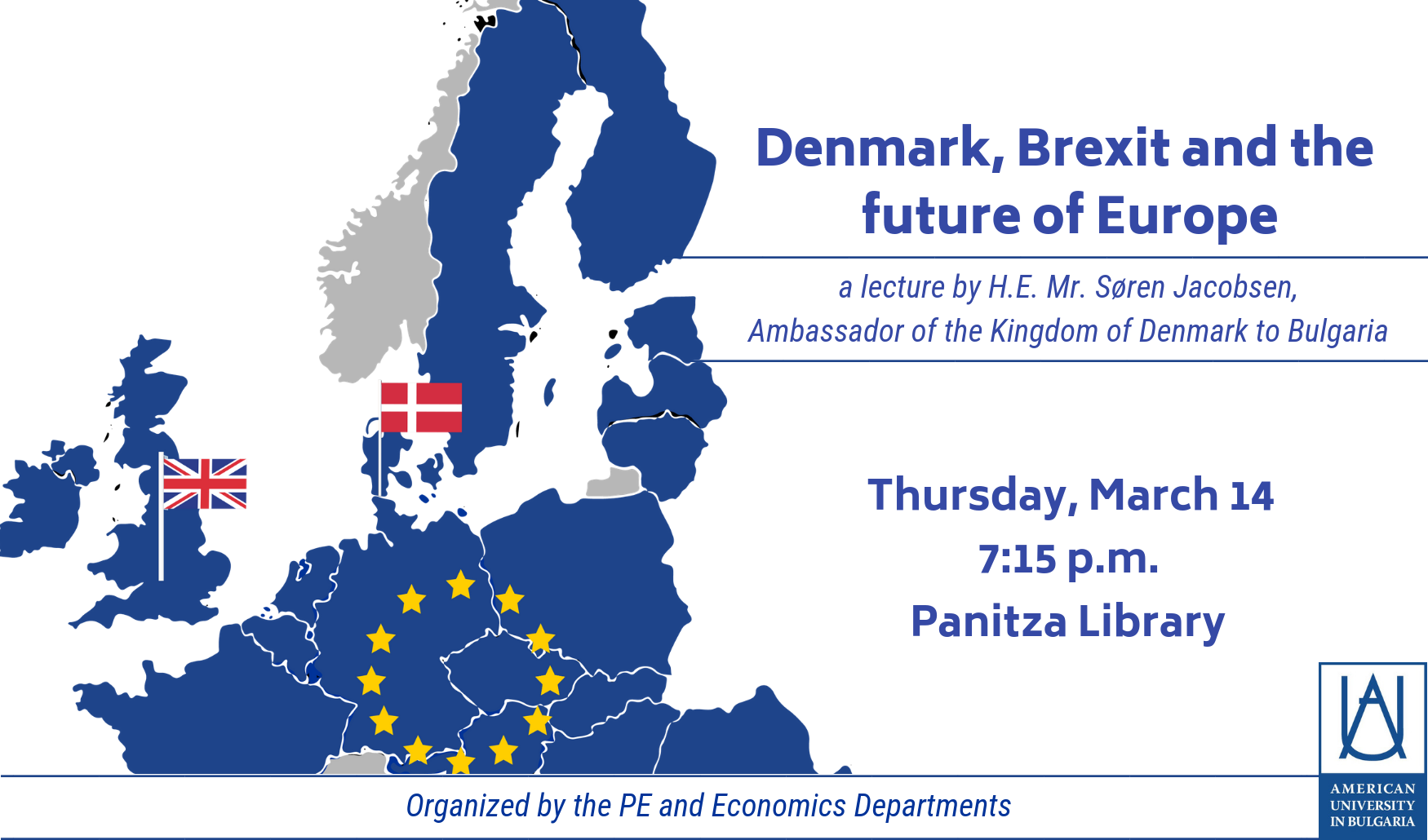Lecture: Denmark, Brexit and the Future of Europe