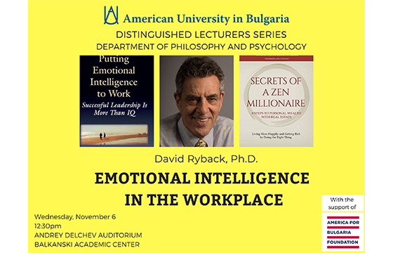 A talk on emotional intelligence in the workplace