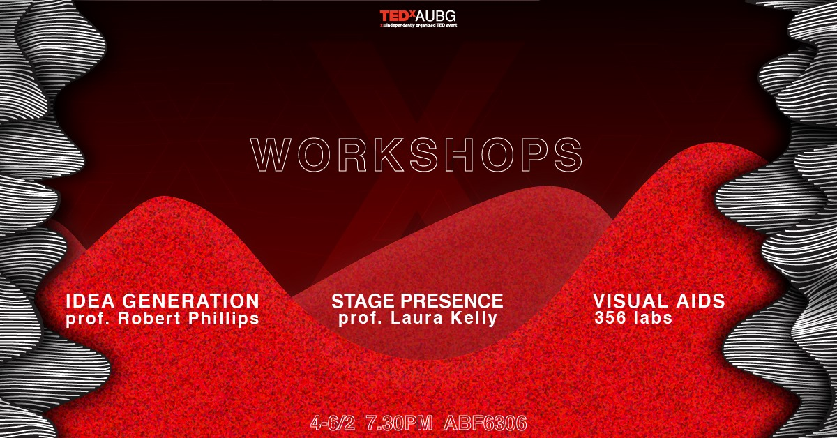TEDxAUBG Workshop: Visual Aids by 356labs