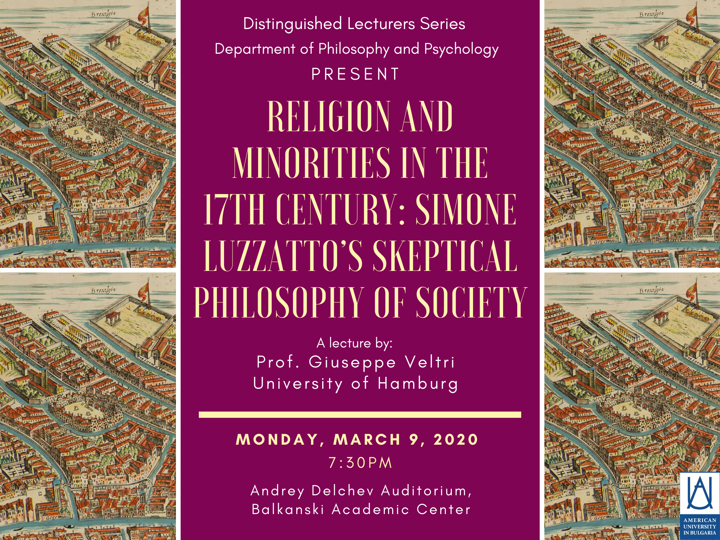 Religion and Minorities in the 17th Century: Simone Luzzatto's Skeptical Philosophy of Society