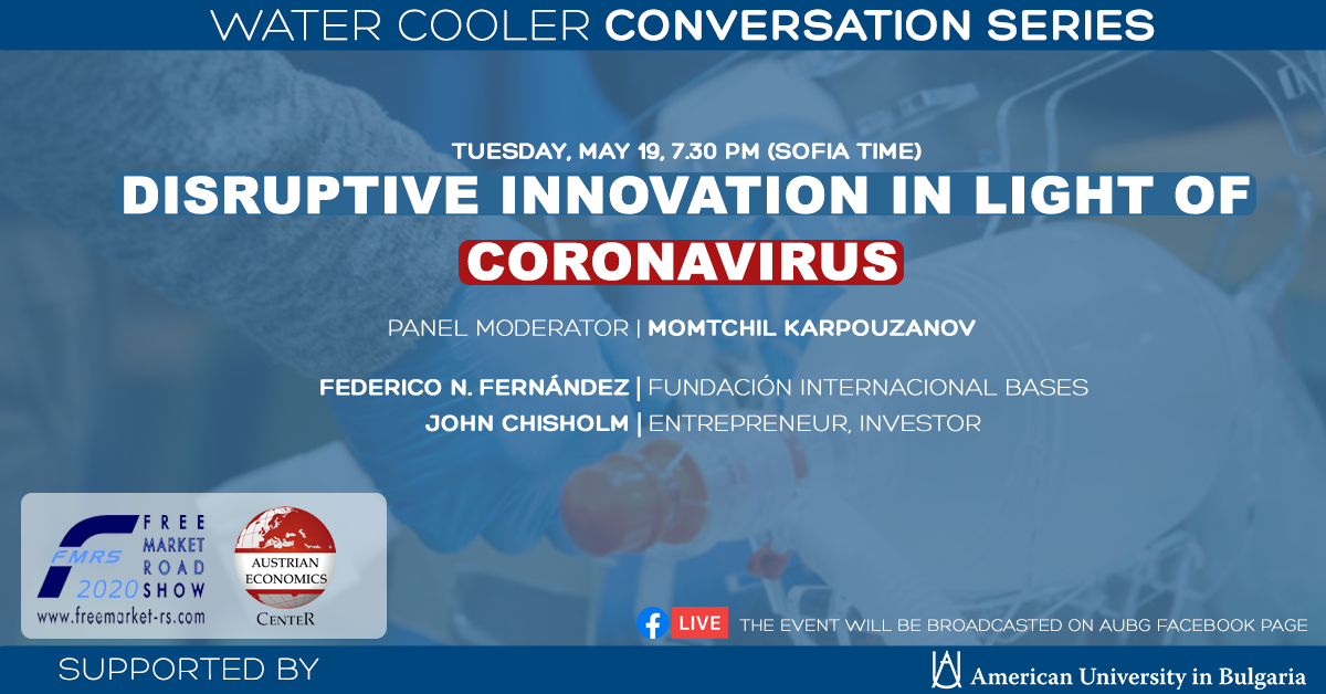 Disruptive Innovation in Light of Coronavirus