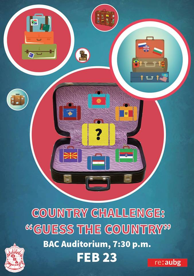 "International Week: Country Challenge: ""Guess the Country"""