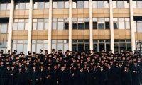 1995 May 7: First AUBG class graduates.