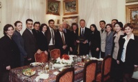 1999 November: First visit by U.S. President: Bill Clinton receives an honorary doctorate from AUBG.
