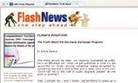 1999 September: FlashNews – the first online student publication – is launched.