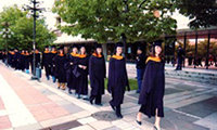 2004 May 11: First Executive MBA class graduates.