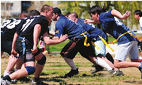 2009 April 4: The Griffins American football club host the first national tournament in American flag football.