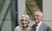 2009 May 16: AUBG library named after Dimi and Yvonne Panitza at official ceremony.