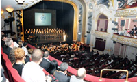 2011 October 3: AUBG marks its twentieth anniversary with a birthday gala in Sofia's Ivan Vazov Theater.