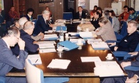 1991 November: First meeting of the AUBG Board of Directors.