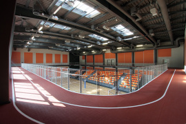 ABF Sports Hall - running track view