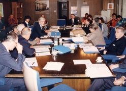 First Board Meeting - 1991