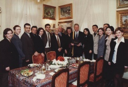 US President Bill Clinton visits AUBG - November, 1999