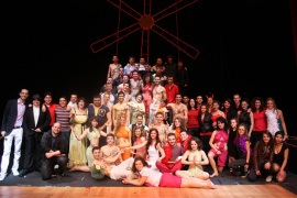 AUBG Musical Moulin Rouge - 2011