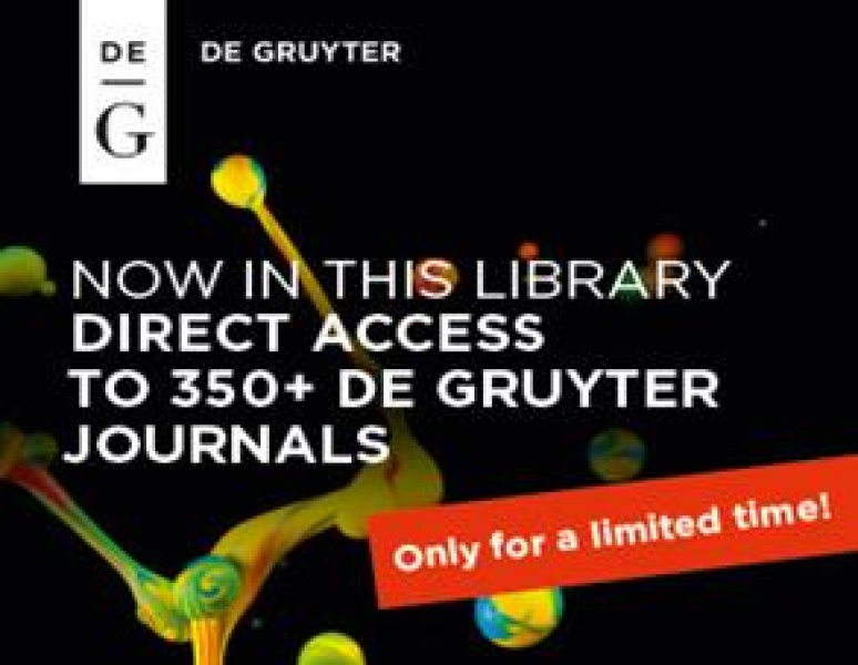 Free Trial Access to Brill and De Gruyter Online Jour   AUBG
