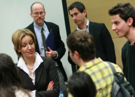 Minister Gergana Passy Impressed by AUBG Students