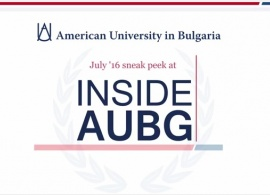"Watch the New ""Inside AUBG"" Video Teaser and Take a Sneak Peek at the Upcoming Issue of Our Community Newsletter!"