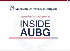 "Start the New Academic Year with the ""Inside AUBG"" Community Newsletter! Watch Our Video Teaser and Catch a Glimpse of the Upcoming Issue"