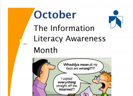 October – The Information Literacy Awareness Month