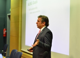 November Town Hall Meeting: President Kulinski Presents Successes and Changes