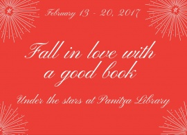 This Valentine's Day fall in love with a good book