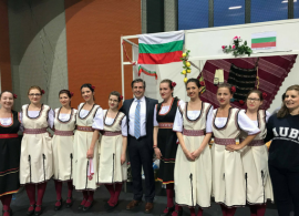 """Students, Professors and Guests from 40 Countries Exchange Ideas and  Present Their Cultures in the """"International Week"""" at the American University in Bulgaria, Американски университет в България, Благоевград"""
