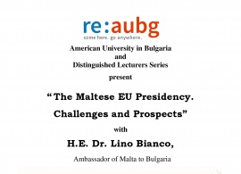 The EU Maltese Presidency. Challenges and Prospects. March 1, 2017