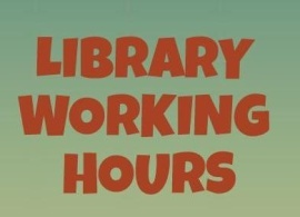 Library Working Hours During the Vacation
