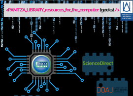 Panitza Library Subject weeks: What's new in Computer Science?