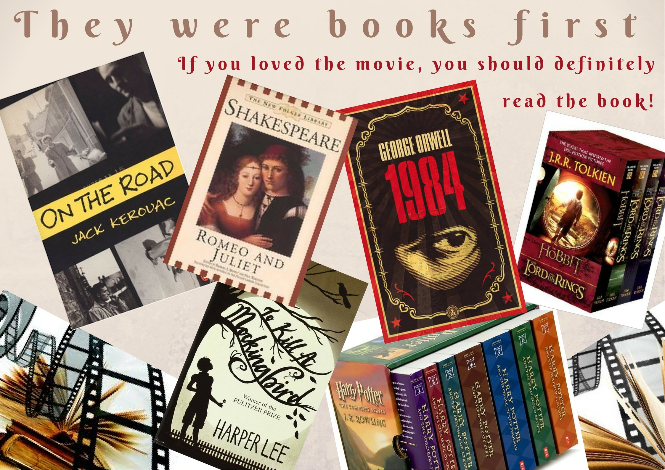 They Were Books First