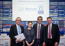 AUBG and SDA Bocconi Present Joint Executive Master's Program in Sofia
