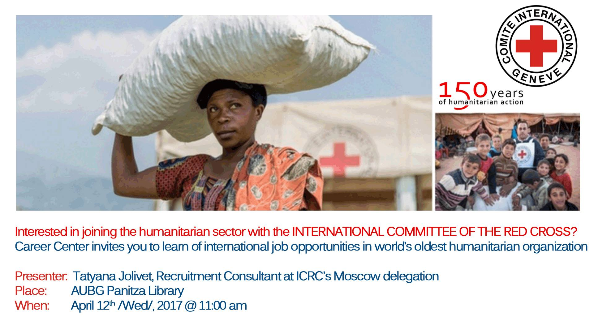 International Jobs at the Red Cross, Apr 12, 2017