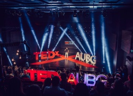"TEDxAUBG 2017: Sharing Ideas ""Across Imagination"""