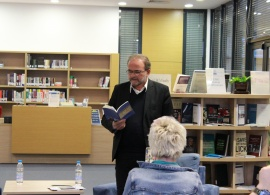 "Famous Bulgarian Poet, AUBG Professor Vladimir Levchev Presents Newest Book ""Love in the Square"""