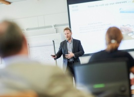 AUBG EMBA Hosts Master Classes on Value Creation Wheel and Innovation and Design
