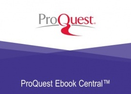 ProQuest EbookCentral Accounts Update