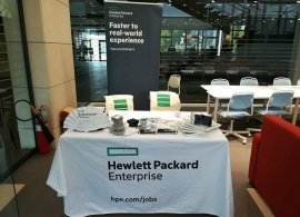Hewlett Packard Enterprise Returns to Campus