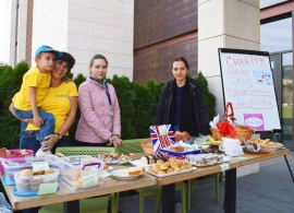 Charity Bake Sale Supports Local Family