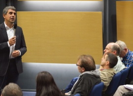 Bulgarian President Rosen Plevneliev Joins AUBG October Community Meeting
