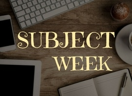 Panitza Library Subject Week